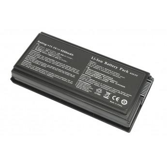 Аккумуляторная батарея для ноутбука Asus F5 X50 X59 5200mAh OEM черная