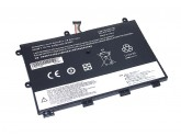 Аккумуляторная батарея для ноутбука Lenovo ThinkPad Yoga 11e (45N1750-2S2P) 7.4V 4400mAh OEM черная
