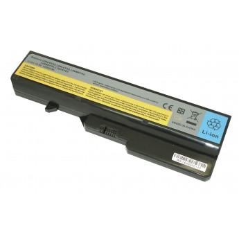 Аккумуляторная батарея для ноутбука Lenovo IdeaPad G565 (L09C6Y02) 5200mAh OEM черная