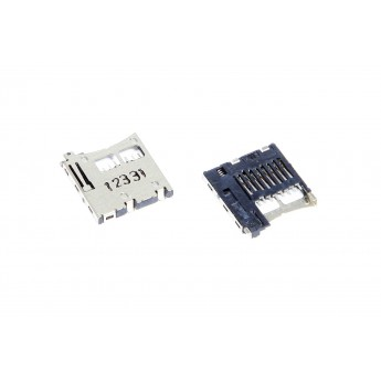 Коннектор SIM-карты (сим), mmc коннектор LG Samsung HTC Micro SD ( S80 )