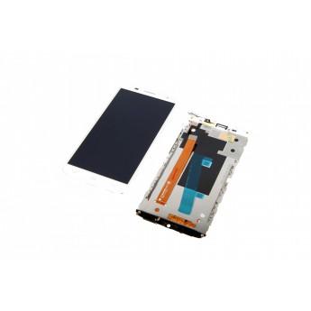 Дисплей с тачскрином (Модуль) ALCATEL One Touch Idol 2s 6050 Y White