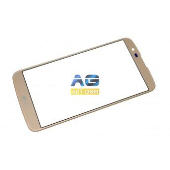 Стекло LG K10 K430DS Gold