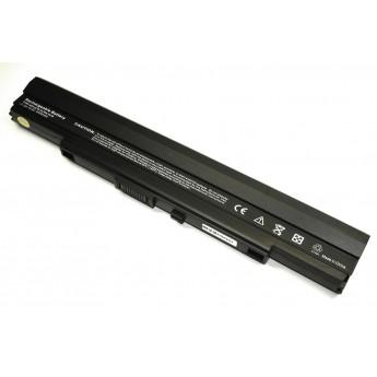 Аккумуляторная батарея для ноутбука Asus A1, PL30, PL80, U30 14.4V 5200mAh A42-UL50 OEM черная