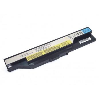 Аккумуляторная батарея для ноутбука Lenovo B465 11.1V 4400mAh OEM черная