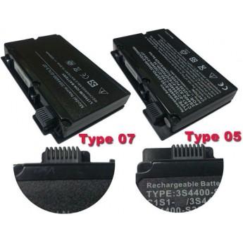 Аккумуляторная батарея для ноутбука Fujitsu Siemens Amilo Pi3525 3S4400-S1S5-07 (TYPE 07) OEM черная