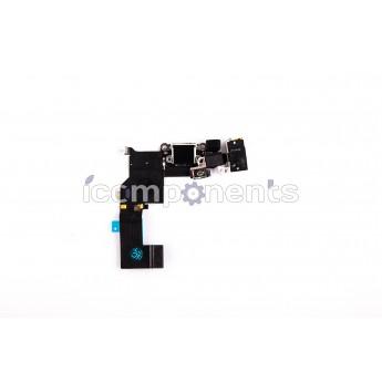 iPhone 5s - нижний шлейф зарядки, белый