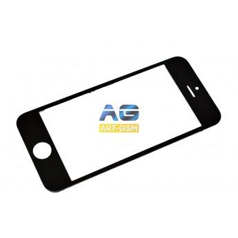Стекло Apple Iphone 5C с рамкой+Oca Black