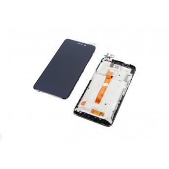 Дисплей с тачскрином (Модуль) ALCATEL 60346035 One Touch Idol S Black (Original)