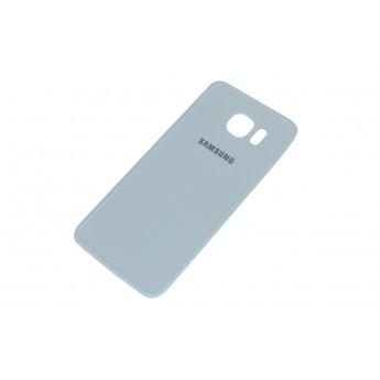 Задняя крышка Samsung Galaxy S6 G920/G920F (кожа) White