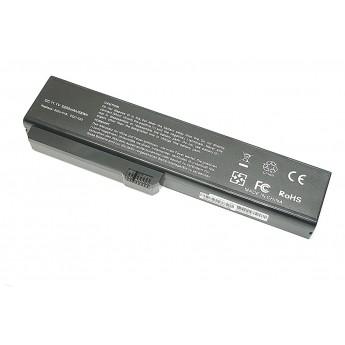 Аккумуляторная батарея для ноутбука Fujitsu Siemens Amilo Si1520 11.1V 5200mAh SQU-518 OEM черная