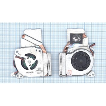 Система охлаждения для ноутбука Toshiba Portege A600 A601 A602 A605 R600