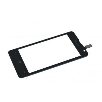 Сенсорное стекло,Тачскрин Nokia Microsoft Lumia 430 Dual SIM Black