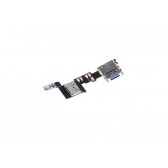 Шлейф Samsung Galaxy Note 4 N910 F с сим и флеш коннектором (Original)