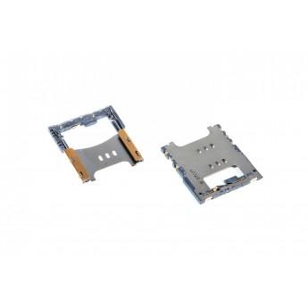 Коннектор SIM-карты (сим), mmc коннектор Apple 3G/3GS счит. сим карты ( S40 )