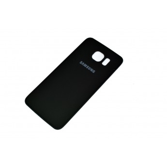 Задняя крышка Samsung Galaxy S6 G920/G920F (кожа) Black