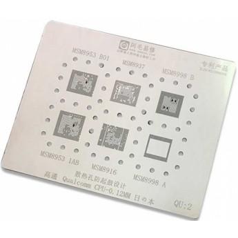 Трафарет BGA для процессоров Qualcomm MSM8937 MSM8998