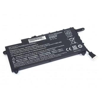 Аккумуляторная батарея для ноутбука HP Pavilion 11-n000snx (PL02) 7.6V 29Wh OEM черная