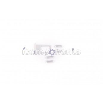 iPhone 6+/6s+ - комплект кнопок корпуса silver