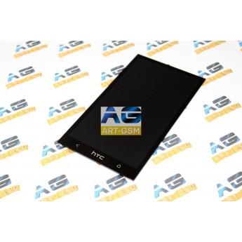 Дисплей с тачскрином (Модуль) HTC One Dual Sim/M7 Black (Original)