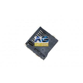 Коннектор SIM-карты (сим), mmc Flash коннектор China (S117)