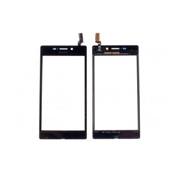 Сенсорное стекло,Тачскрин SONY Xperia M2 Aqua D2403 Black