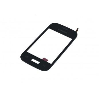 Сенсорное стекло,Тачскрин Samsung G110 Galaxy Pocket 2 Duos Black (Original)