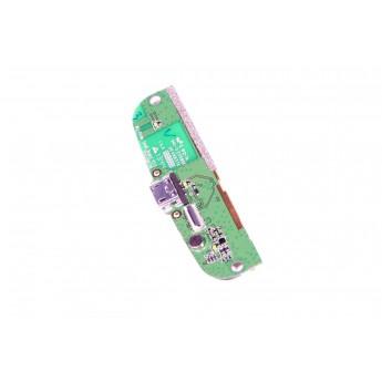 Плата Philips W8555 с раземом зарядки и с микрафоном
