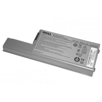 Аккумуляторная батарея для ноутбука Dell Latitude D820 56Wh серебристая Original