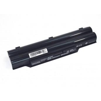 Аккумуляторная батарея для ноутбука Fujitsu LifeBook A532 10.8V 4400mAh AH532-3S2P OEM черная