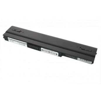 Аккумуляторная батарея для ноутбука Asus U1, U3, N10, eeePC 4400mAh Original черная