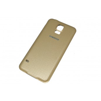 Задняя крышка Samsung Galaxy S5 G900 Gold
