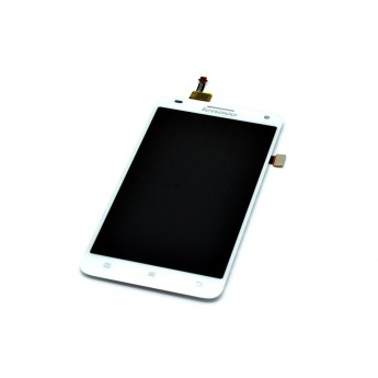 Дисплей с тачскрином (Модуль) Lenovo S580 White (Original)