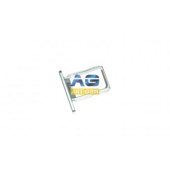 SIM лоток (Держатель сим карты) Samsung Galaxy S6 SM-G920 Silver