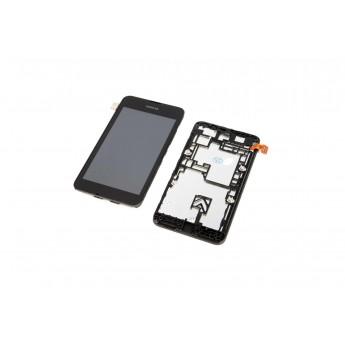 Дисплей с тачскрином (Модуль) Nokia Lumia 530 rm-1019 в рамке (Original)