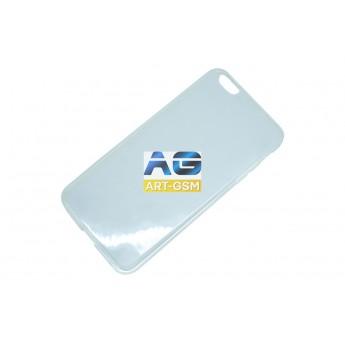 Накладки Apple Silicon iPhone 6/6S Plus Прозрачный