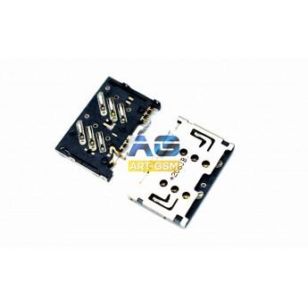 Коннектор SIM-карты (сим), mmc коннектор (S118)