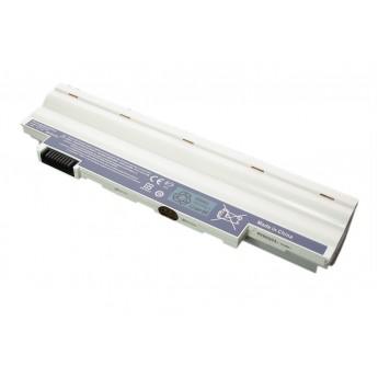 Аккумуляторная батарея для ноутбука Acer Aspire One D255 D260 eMachines 355 350 7800mAh OEM белая