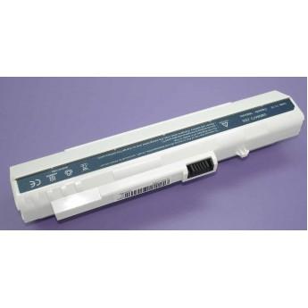 Аккумуляторная батарея для ноутбука Acer Aspire One ZG-5 D150 A110 A150 531h 11.1V 7800mAh OEM белая