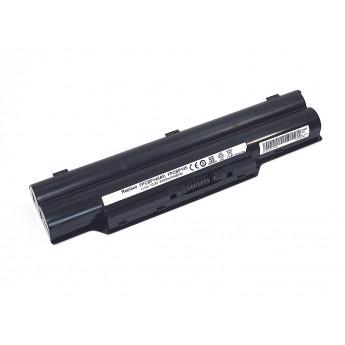 Аккумуляторная батарея для ноутбука Fujitsu LifeBook A561/D 10.8V 4400mAh BP145-3S2P OEM черная
