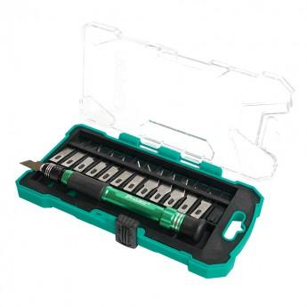Скальпель Pro'sKit PD-398 с набором лезвий