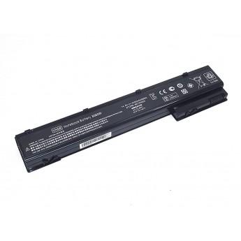 Аккумуляторная батарея для ноутбука HP 8560W 14.8V 4400mAh OEM черная