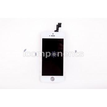 iPhone 5s - модуль (LCD touchscreen) белый, ORIG REF