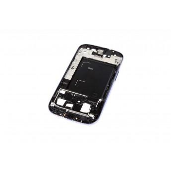 Корпусной часть (Корпус) Samsung i9305 Galaxy S3 LTE рамка дисплея Brown (Original)