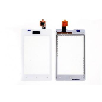 Сенсорное стекло,Тачскрин SONY C1505C1605 xperia e dual White