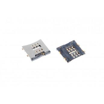 Коннектор SIM-карты (сим), mmc коннектор Apple iPhone 4 / 4S ( S47 )