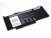 Аккумуляторная батарея для ноутбука Dell Latitude E5450 (G5M10) 51Wh 7.4V черная OEM