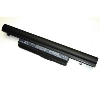Аккумуляторная батарея для ноутбука Acer Aspire 7745 7800mAh OEM черная